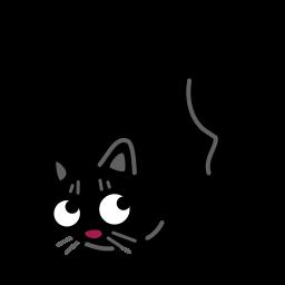 Cat Acrobat Sticker