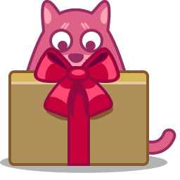 Cat Gift Sticker