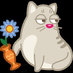 Cat Rascal Sticker