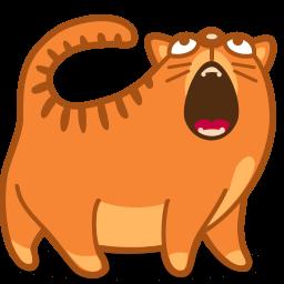 Cat Sing Sticker