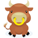 Ox Sticker