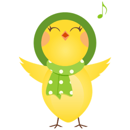 Singing Chicken Sticker