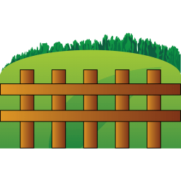 Farm Fence Sticker