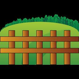 Farm Fence Sticker