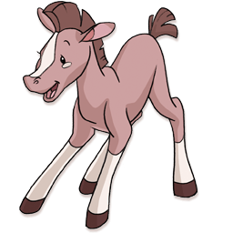 Foal Sticker