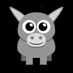 Donkey Sticker