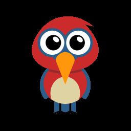 Parrot Sticker