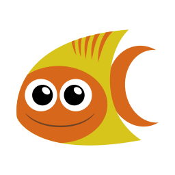 Tropical Fish Sticker