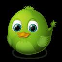 Bird Awake Sticker