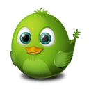 Bird Connecting Sticker