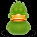 Duck Asleep Sticker