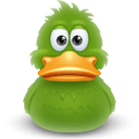 Duck Awake Sticker
