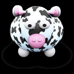 Cow Blackspots Sticker