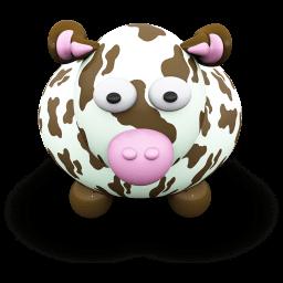Cow Brownspots Sticker