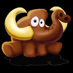 Mammoth Seated Sticker