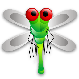 Dragon Fly Sticker
