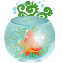 Aquarium Sticker