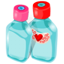 Bottles Sticker