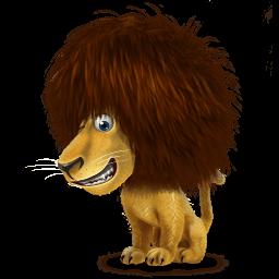 Lion Sticker