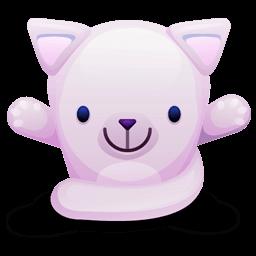 Cat Pink Sticker
