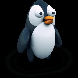 Penguine Sticker