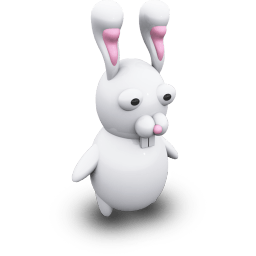 Rabbid Sticker