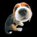 Puppy 1 Sticker