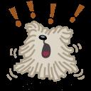 Dog Bark Sticker