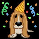 Dog Birthday Sticker