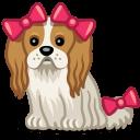 Dog Bows Sticker