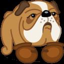 Dog Boxer Sticker