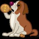 Dog Saint Bernard Sticker
