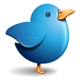 Twitter Bird Sticker