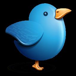 Twitter Bird Sticker
