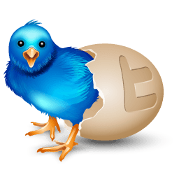 Twitter Egg Sticker