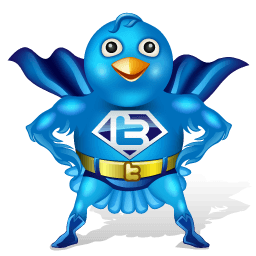Twitter Man Sticker