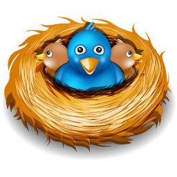Twitter Nest Sticker