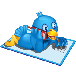 Twitter Phone Sticker