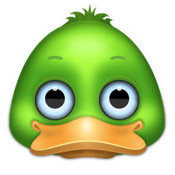 Duck Sticker