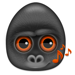 Monkeys Audio Sticker