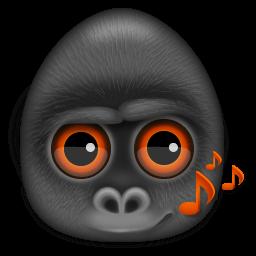 Monkeys Audio Sticker