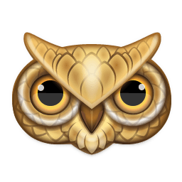 Owl Sticker