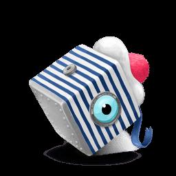 Box Sailor Seaman Sticker