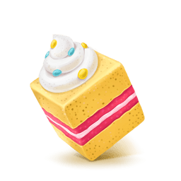 Box Cake Sweet Sticker