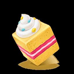 Box Cake Sweet Sticker