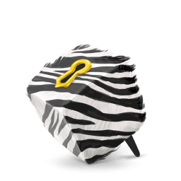 Box Zebra Sticker