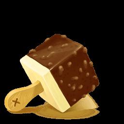 Box Ice Cream Chocolate Sticker