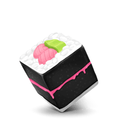 Box Sushi Sticker
