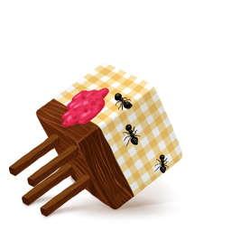 Box Table Sticker