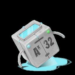 Box Robot Sticker